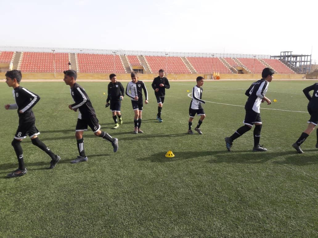 گزارش تصویری مسابقه دوستانه بین تیم زیر 14 سال شاهین کرمان و تیم زیر 15 سال سرخپوشان زرند