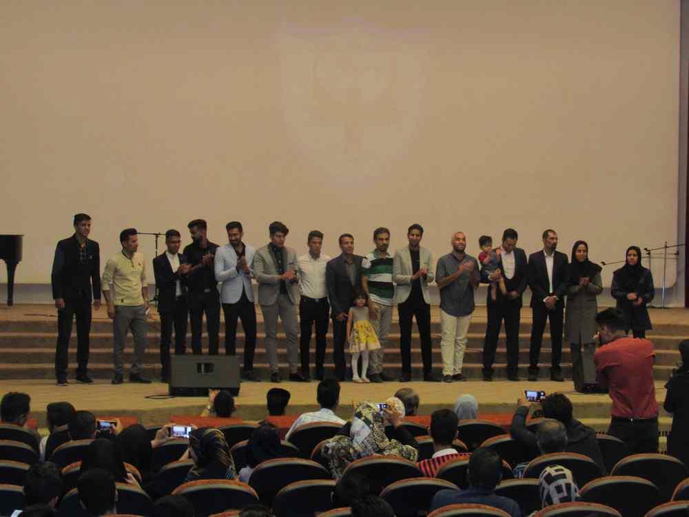 جشن باشکوه پنجمین سال تاسیس باشگاه فرهنگی ورزشی شاهین کرمان برگزار شد