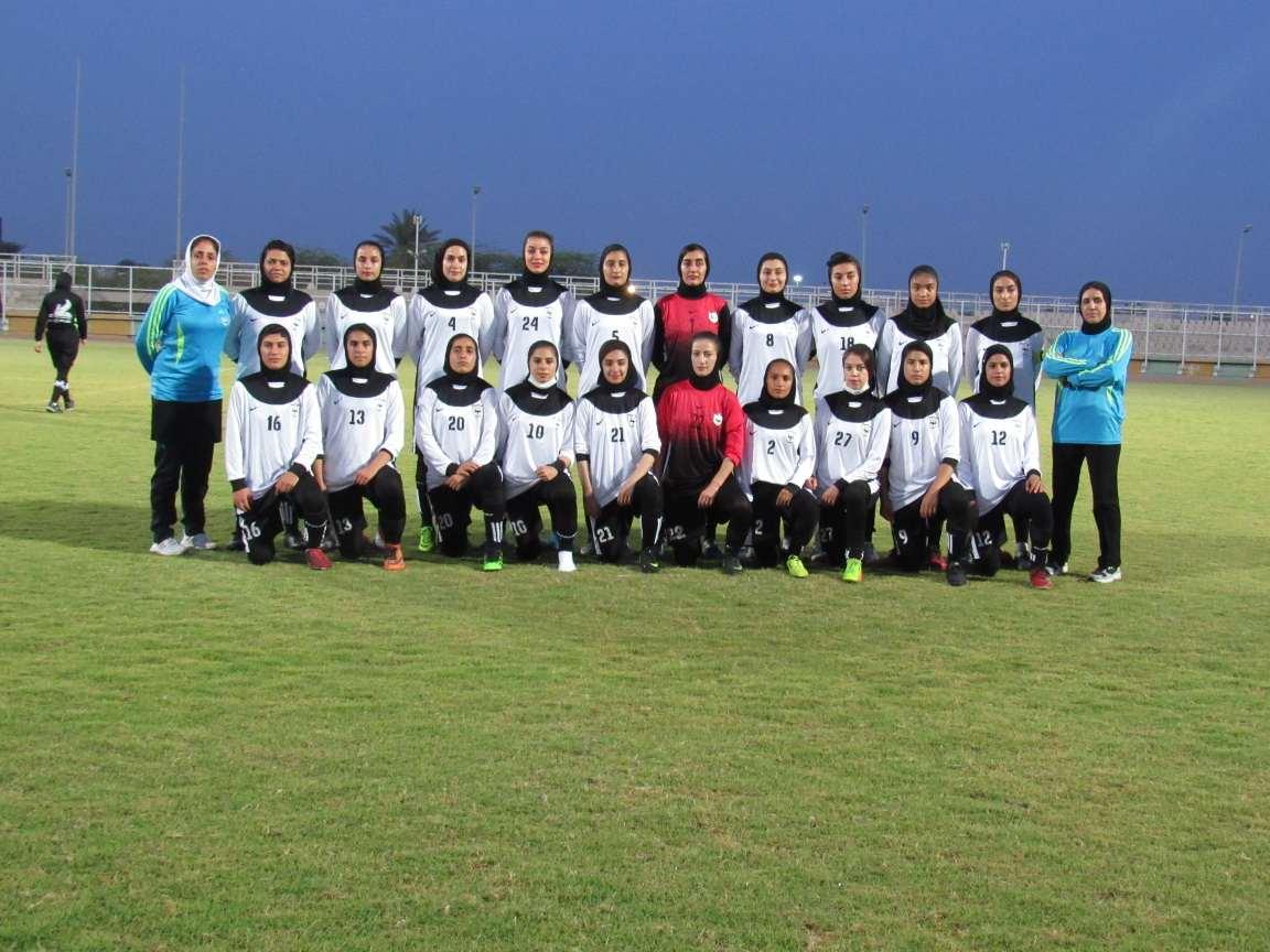 گزارش تصویری؛ حضور تیم بانوان شاهین کرمان در لیگ دسته اول کشور